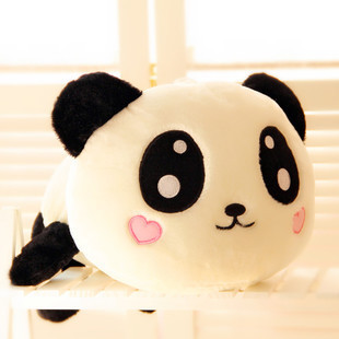 lovely giant panda plush toy 80cm panda soft throw pillow, birthday gift F048 lovely panda in yellow cloth large 90cm plush toy panda doll soft hugging pillow christmas birthday gift x040