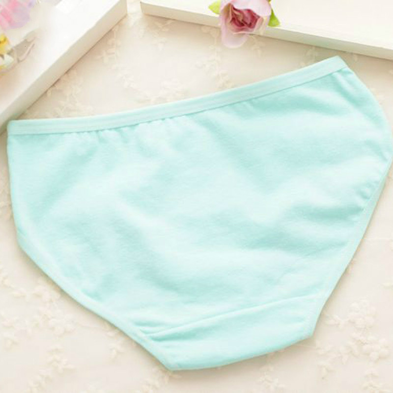 4Pc/Lot Girls Briefs Kids Underwear Panties Triangle Pants Suitable for 2-10 Years 6
