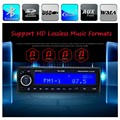 Car Radio Stereo MP3 Player Bluetooth Phone AUX-IN FM/USB/SD/1 Din Remote Control 12V Audio Auto high quality