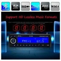 Xe Đài Phát Thanh Stereo MP3 Player Bluetooth Điện Thoại AUX-IN FM/USB/SD/1 Din Điều Khiển Từ Xa 12 V âm thanh Tự Động chất lượng cao