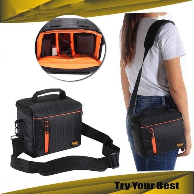 Digital Camera Case Shoulder Bag for Fujifilm X100F X100T X100S X100 X70  X30 X20 X10 X PRO 2 1 X A2 XA2 X A1 XA1 X M1 XM1 Camera-in Camera/Video  Bags