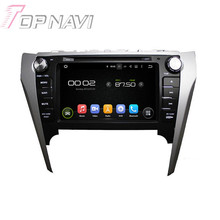 8″ Quad Core Android 5.1 Car GPS Navigation For Toyota Camry 2012 With Radio Multimedia Video DVD Player Mirror Link 16GB Flash