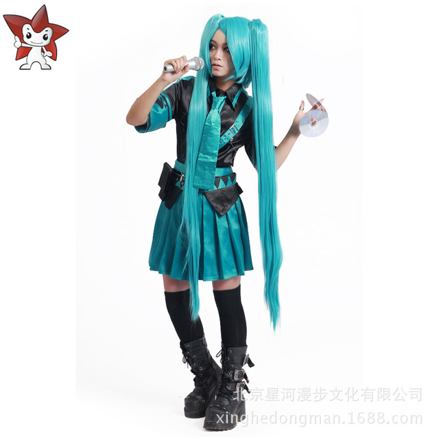 Best Price Vocaloid Love IS War Hatsune Miku Halloween Girls