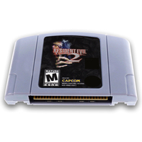 Resident Evil 2 English Language For 64 Bit USA EU Version Video Game Cartridge Console