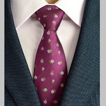 NINIRUSI Hi-Tie Paisley Tie Set 100% Silk Jacquard Mens Necktie Gravata for Wedding Party