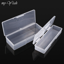Container Storage-Box Nail-Art-Tool Polishing Nails Clippers Empty Plastic Pens Pusher