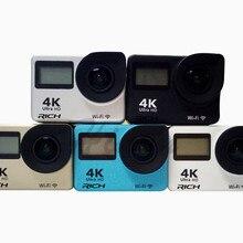 5pcs/lot T350 Sport Camera 4K 2.0 inch WiFi 4K 30FPS 16MP H.264 30m Waterproof 170 Wide Lens Action DV Sports Camera