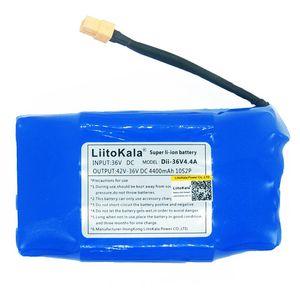 Paquete de batería de li-ion recargable de 36V, 4400mah, celda de iones de litio de 4,4 Ah para patinete eléctrico de equilibrio automático, uniciclo de aerotabla