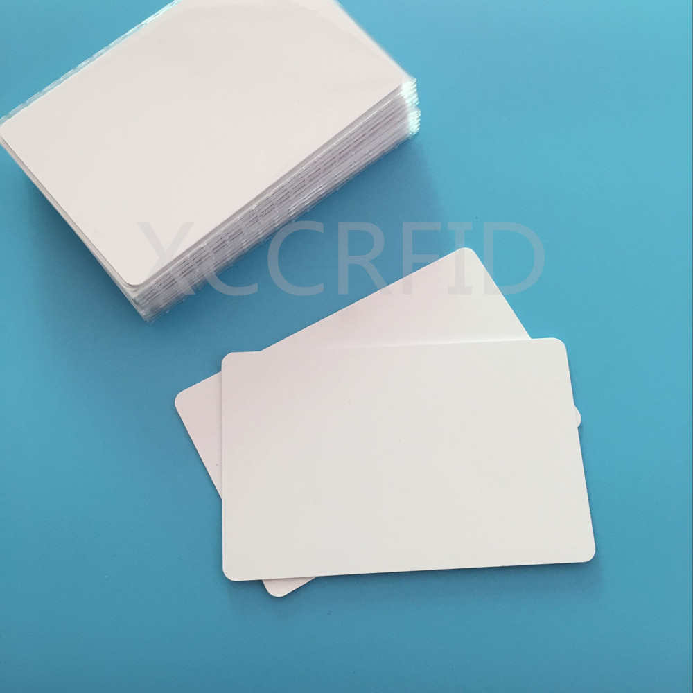 10000pcs RFID Cards 13.56mhz S50 MF 1K NFC Cards Hotel Access Card White PVC Smart IC Cards