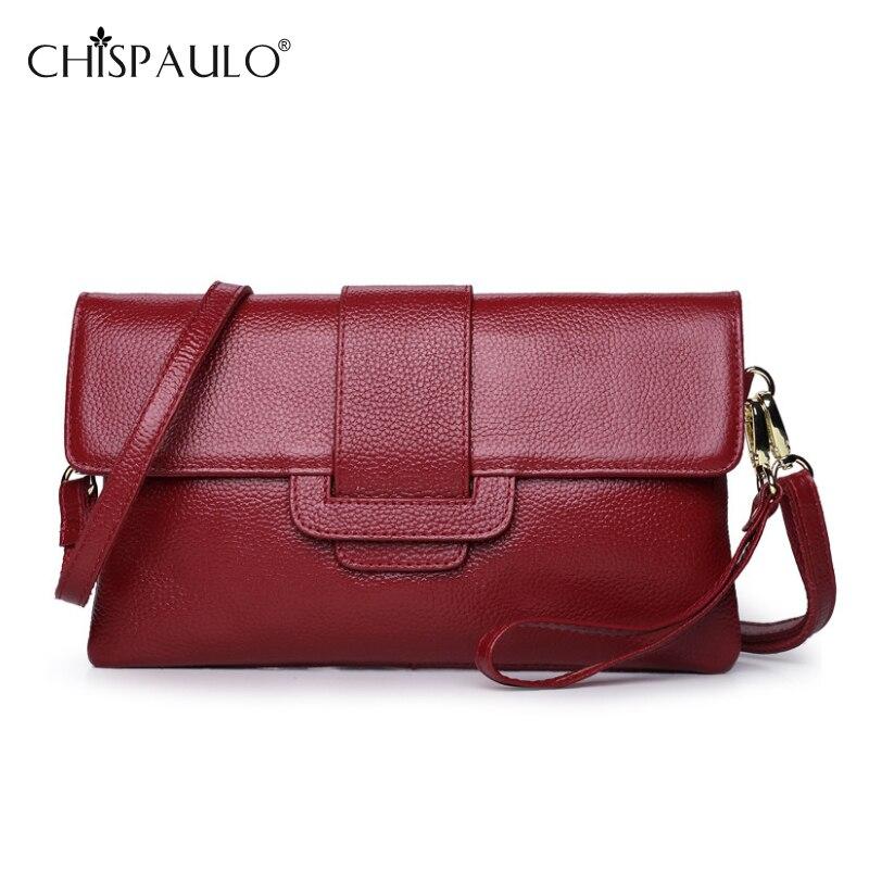 ФОТО Women Genuine Leather Messenger Bag Famous Brand Envelope Bag Designer Lady Fashion Embossed Leather Shoulder Bag bolsa feminina