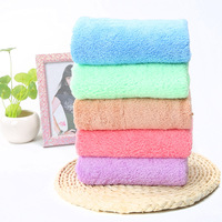 35 75cm Candy Color 10pcs Lot Coral Fleece Flannel Hand Towels Home Decorative Cheap Price High