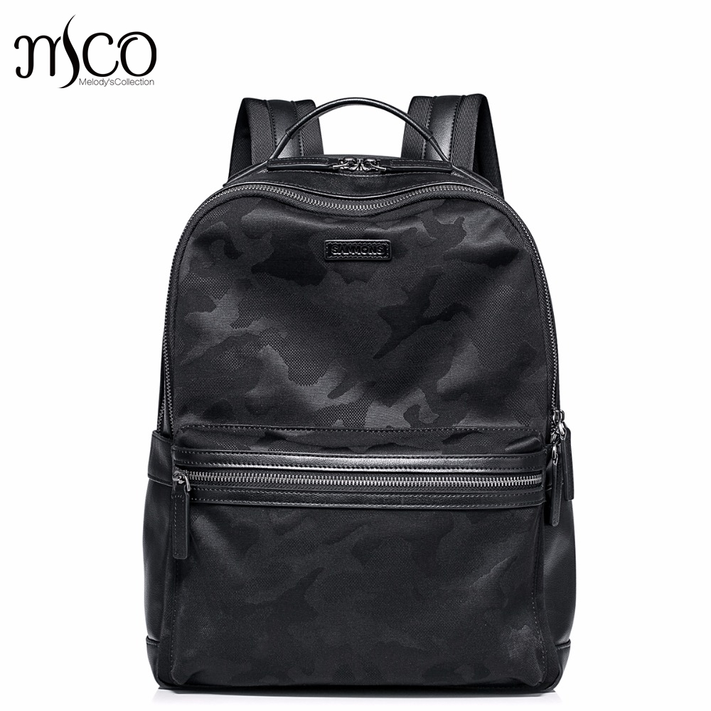 Casual Men Backpacks High Quality Genuine Cow Leather Camouflage Man Schoolbag Large Capacity Male Waterproof Laptop Travel Bag high quality men genuine leather backpack italian 100% cow leather unisex bag large capacity casual vintage backpacks mochila