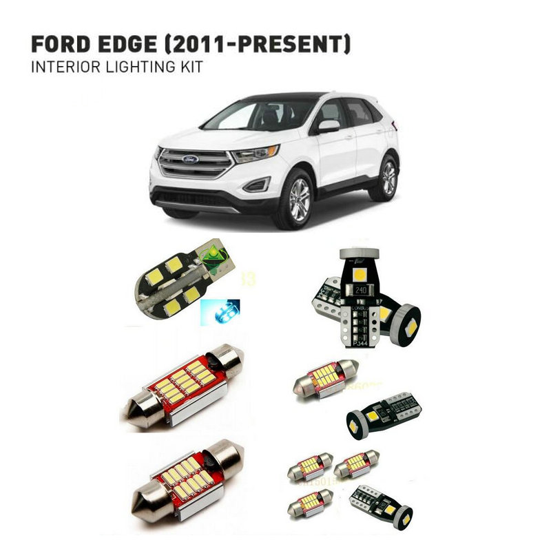 Led interior lights For Ford edge 2011 12pc Led Lights For Cars lighting kit automotive bulbs Canbus in Car Light Assembly from Automobiles Motorcycles