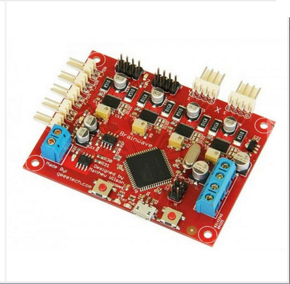 DuoWeiSi 3D Printer parts 3D Printer Control Board Reprap Brainwave Motherboard flsun 3d printer big pulley kossel 3d printer with one roll filament sd card fast shipping