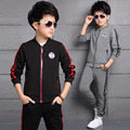 Kids Tracksuits For Boys Sports Suits Cotton 2017 Spring Autumn Children Clothing Sets Casual Brand Boys Sportswear Outfits 3-12