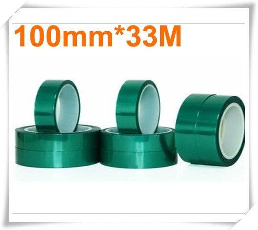 0.06mm*100mm*33m Green PET Tape Hi-Temp PCB Solder Mask стоимость