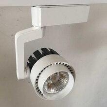 Free Shipping Super 30W Led track spotlight LED rail spot light lamp COB 30W LED track light Warm White/Natural White/Cold White