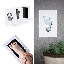 Детские специальные чернильные подушечки для отпечатка руки и следа ноги, Детские сувениры, игрушки для обучения и обучения