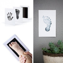 Baby Special Handprint & Footprint Ink Pad Baby Items Souvenir Hand & Footprint Makers Learning & Education Toy Hand Footprint(China)