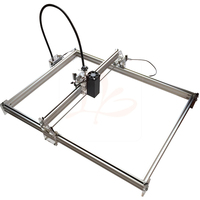 6550 Blue Violet mini cnc Laser Engraving marking Machine Carving Size 50x65CM