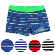 2016 New Summer Clothing Kids Boy Swim Cute Striped Trunks Children Swimming Shorts Boys Beach Swimwears Boy's Clothing 4 colors