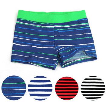 2020 nowa letnia odzież dla dzieci chłopiec pływać śliczne paski kąpielówki dla dzieci chłopcy plaża stroje kąpielowe odzież chłopięca 4 kolory tanie i dobre opinie Character Dobrze pasuje do rozmiaru wybierz swój normalny rozmiar SLGADEN Polyester Children Trunks yiwu