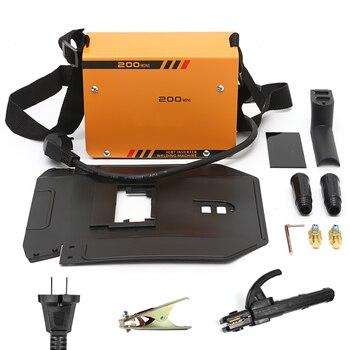 Hot Sale ZX7-200MINI 5.5KW Handheld Mini MMA Electric 220V 10-200A Inverter ARC Welding Machine Tool