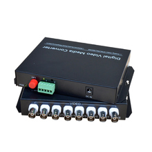 محول وسائط فيديو رقمي 8 قنوات ، جهاز إرسال/مستقبل لنظام الأمان ، كاميرات CCTV