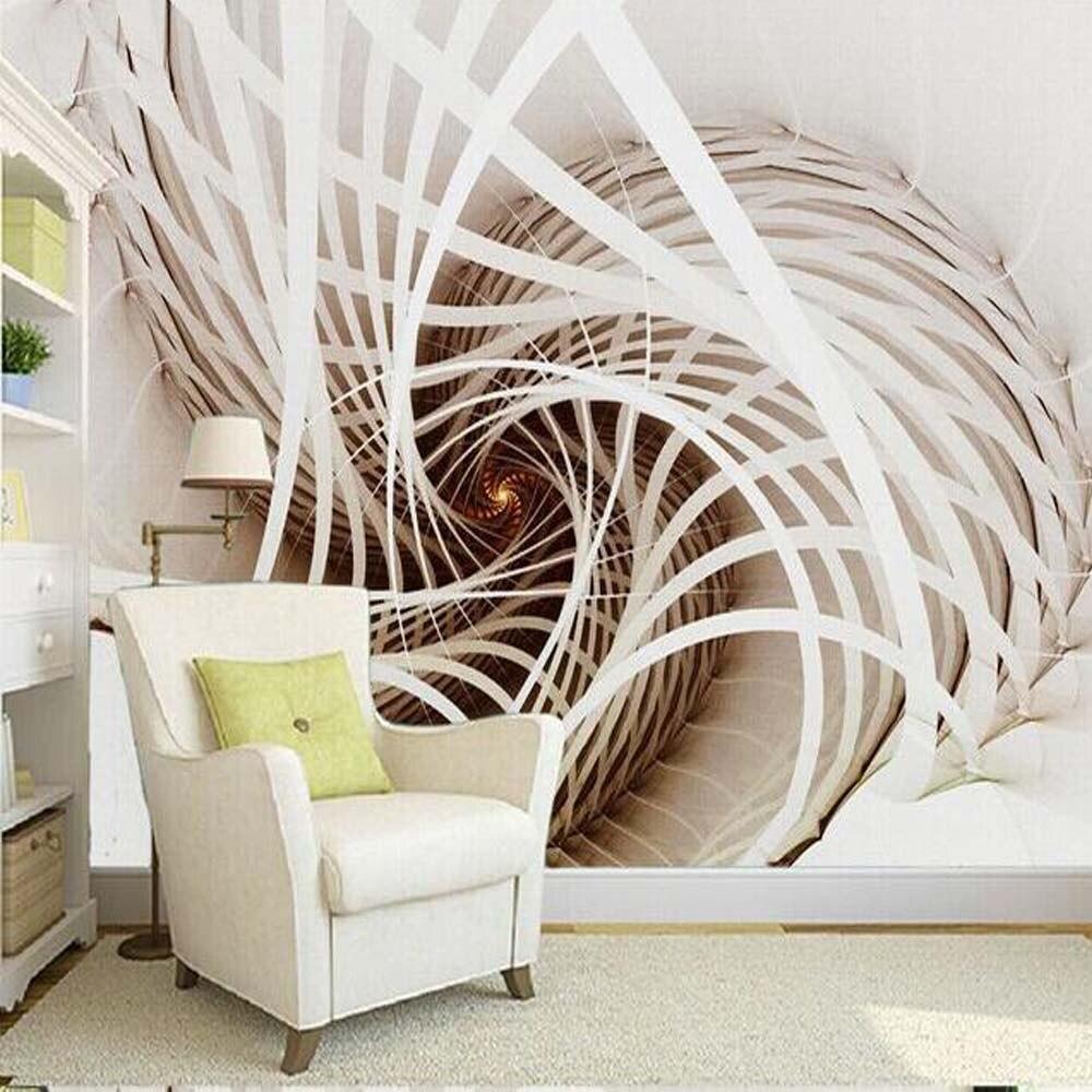 Nature Tree 3d Landscape Mural Photo Wallpaper For Walls 3 D Living  -> Arte Parede Sala