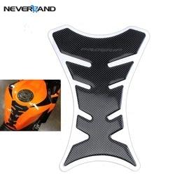 1 шт. углеродное волокно Танк Pad защита бака наклейка для мотоцикла универсальный Fishbone Бесплатная доставка D05
