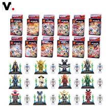 New Children Toys Xmas Gifts Teenage Mutant Phantom Ninja Skylark Minifigures Building Blocks Toys Bricks