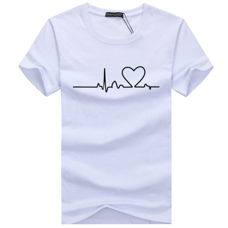 Hip Hop 2019 New Men T-shirts Casual Harajuku Love Printed Tops Tee Summer Female T Shirt Short Sleeve T Shirt For Men Clothing
