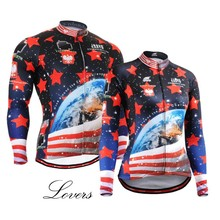 Cycling Jerseys Road Bike MTB Top Shirts Earth Couture Star Bicycle Long Sleeve Clothing Ciclismo For