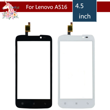 10pcs/lot 4.5 For Lenovo A516 / A 516 LCD Touch Screen Digitizer Sensor Outer Glass Lens Panel Replacement 4 5 for lenovo a516 a 516 lcd touch screen digitizer sensor outer glass lens panel replacement