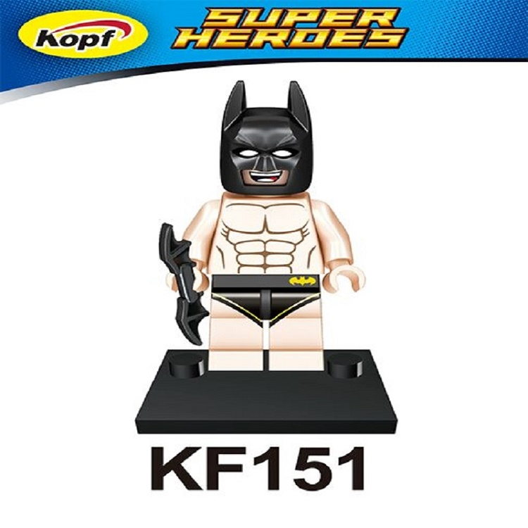 Single Sale Super Heroes Movie Batman Bricks Action Assemble Building Blocks Education Learning Toys for children Gift KF151 xh 287 super heroes avengers single sale antman building blocks assemble blocks bricks model children bricks toys