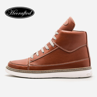 38 48 Hecrafted Brand Men Casual Shoes Comfortable Fashion Men Shoes LS119