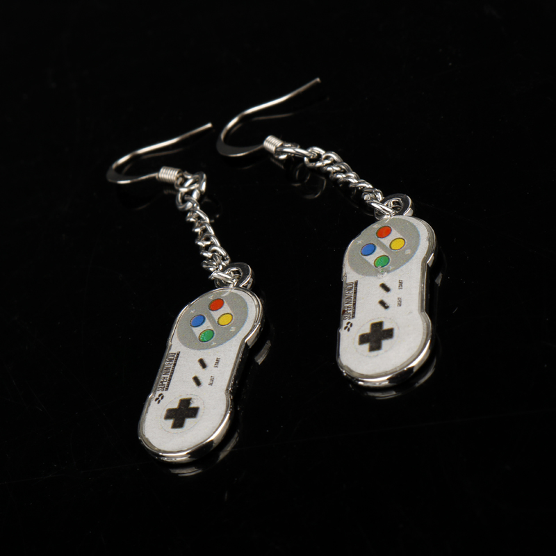 Game Controller Drop Earrings 4