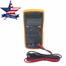 FLUKE 15B+ F15B+Digital Multimeter Meter Auto Range AC DC Voltage Current USA Stock