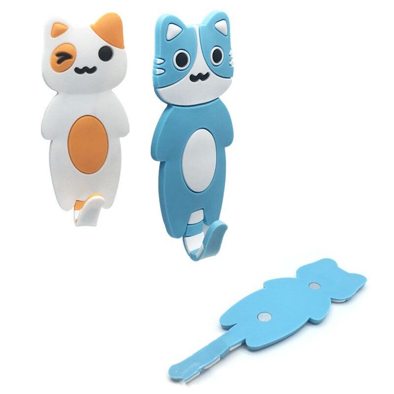1Pc Cute Hook Cat Fridge Magnet Refrigerator Sticker Cartoons Decal Gift Souvenir Home Decor Kitchen Accessories New