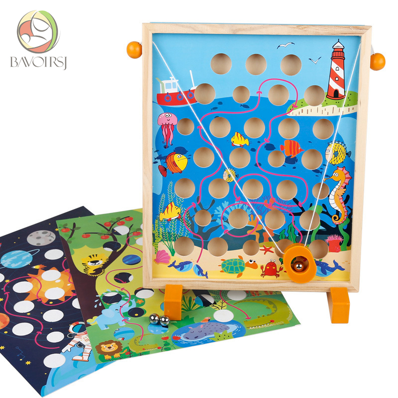 3 Year Old Montessori Fractions Wooden Sensory Toys For