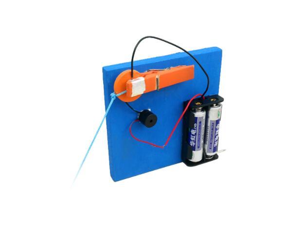 DIY дома охранной сигнализации Системы игрушки Модель аксессуары делая изобретение научн ...
