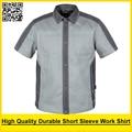 Men's short sleeve polo shirt High quality  workwear shirt  work shirt engineer uniform jacket mechanic polo shirt