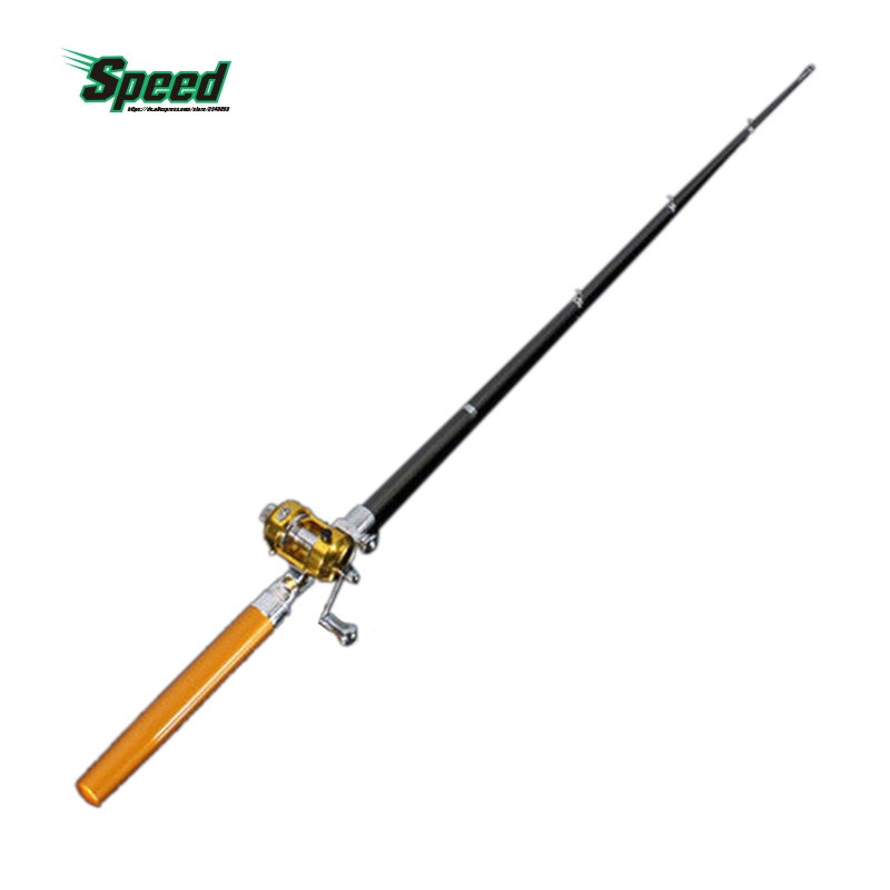 2017 new arrival 1pc mini fishing fishing pole portable for New ice fishing gear 2017