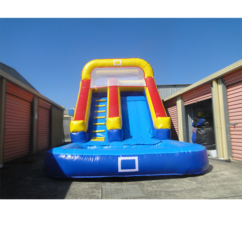 PVC Inflatable  bouncer with water slide  pool for salesPVC Inflatable  bouncer with water slide  pool for sales