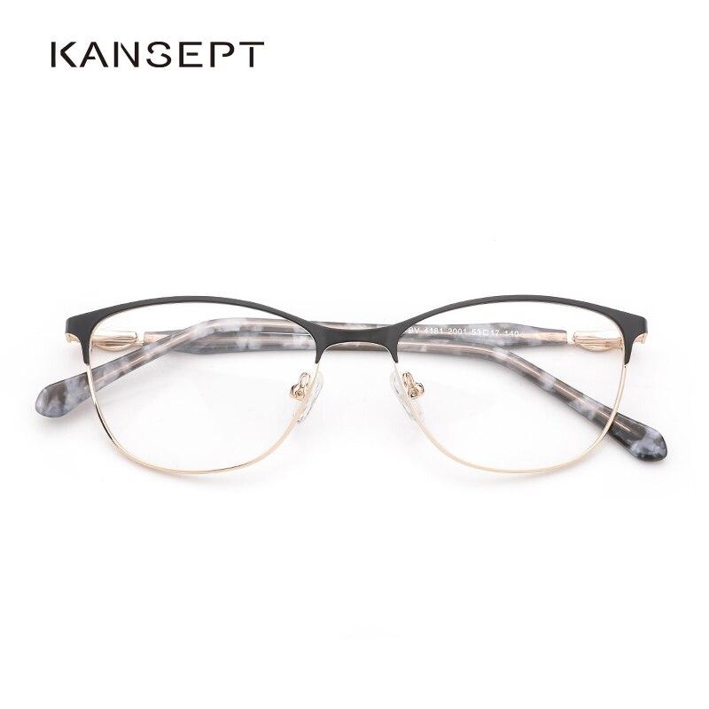 Metal Women Glasses Frame Optical Eyeglasses Prescription Glasses Frame Square 2019 New Type And High Quality For Women