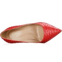 Luxury High Heels Genuine Leather Shoes