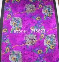 16070129 silk fabric printed silk chiffon fabric for silk dress