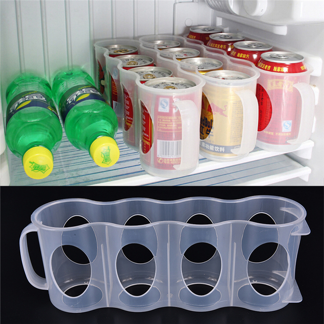 New 1PC Refrigerator Storage Box Kitchen Accessories Fridge Beverage Can  Space Saving Cans Finishing Refrigerator