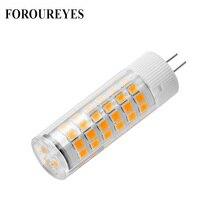 Energy Saving Ceramic Lamp bulb G4 220V 4W 5W 2835 SMD LED Light Bulb replace Halogen G4 for Chandelier free shipping цена 2017