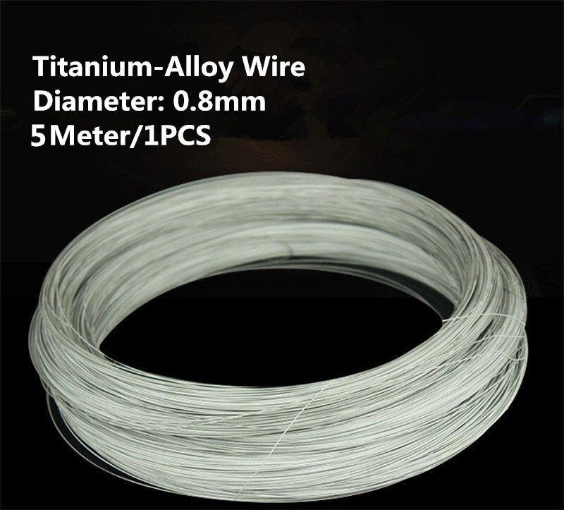 1 шт./5 м TW002 провод из титанового сплава 5 метров диаметр 0,8 мм TA2 титановый провод продается при потере титановый кабель